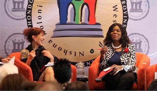 Prof Thuli Madonsela Charissa Bloomberg Integrity Forum
