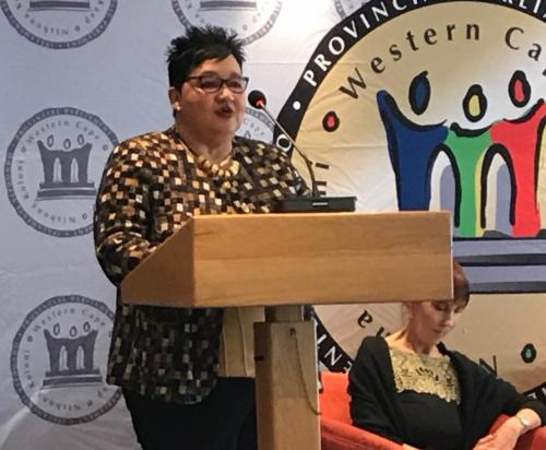 Western Cape Provisional Parliament; Sharna Fernandez; Integrity Forum
