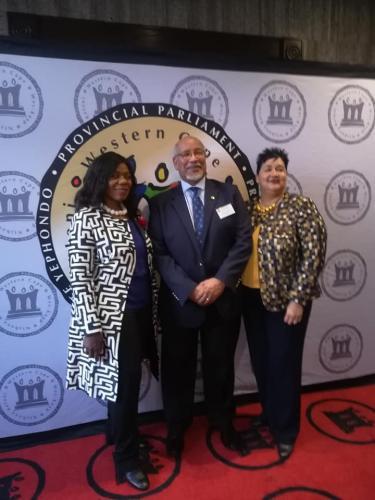 Western Cape Provisional ParliamentSharna Fernandez Integrity Forum