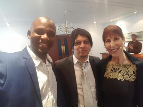 Western Cape Provisional Parliament Charissa BloombergFaizal Sayed