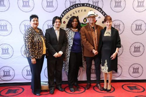 Prof Thuli Madonsela Charissa Bloomberg Integrity ForumFaizal Sayed & Handley TitussSharna Fernandez