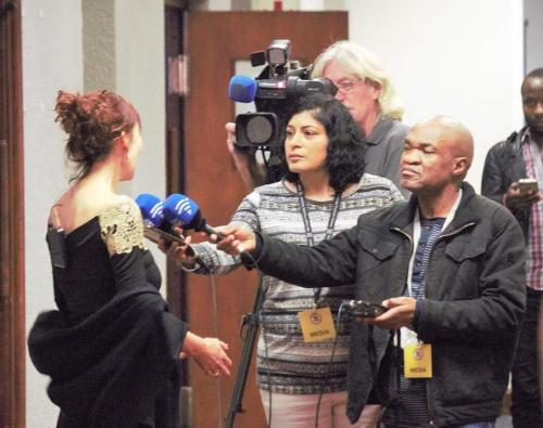 Western Cape Provisional Parliament;SABC News Charissa Bloomberg; Integrity Forum