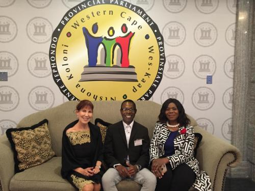 Western Cape Provisional Parliament Prince   Abuh Prof Thuli Madonsela Charissa BloombergIntegrity Forum