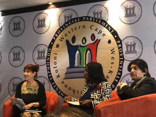 Western Cape Provisional Parliament;  Faizal Sayed  &  Integrity Forum